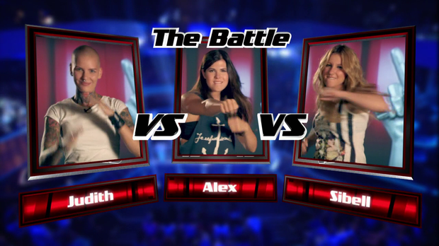Judith vs. Alex vs. Sibell