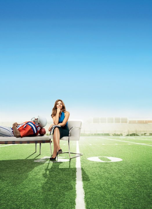 (1. Staffel) - Auf der Suche nach einer neuen Einnahmequelle wird sie beratende Psychologin eines Footballteams: Psychologin Danielle Santino (Calli... - Bildquelle: 2011 Sony Pictures Television Inc. and Universal Network Television LLC.  All Rights Reserved.