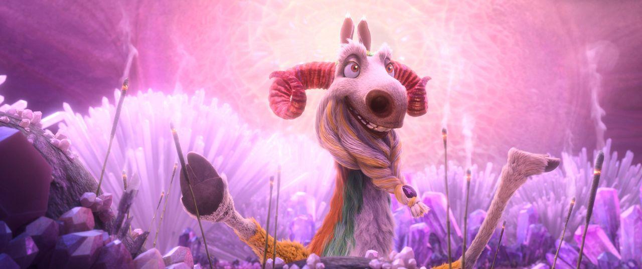Kann und will Shangri Llama, das Orakel in dem sonderbaren Land Geotopia, Sid und seinen Freunden helfen, die Welt vor dem Untergang zu retten? - Bildquelle: 2016 Twentieth Century Fox Film Corporation. All rights reserved.
