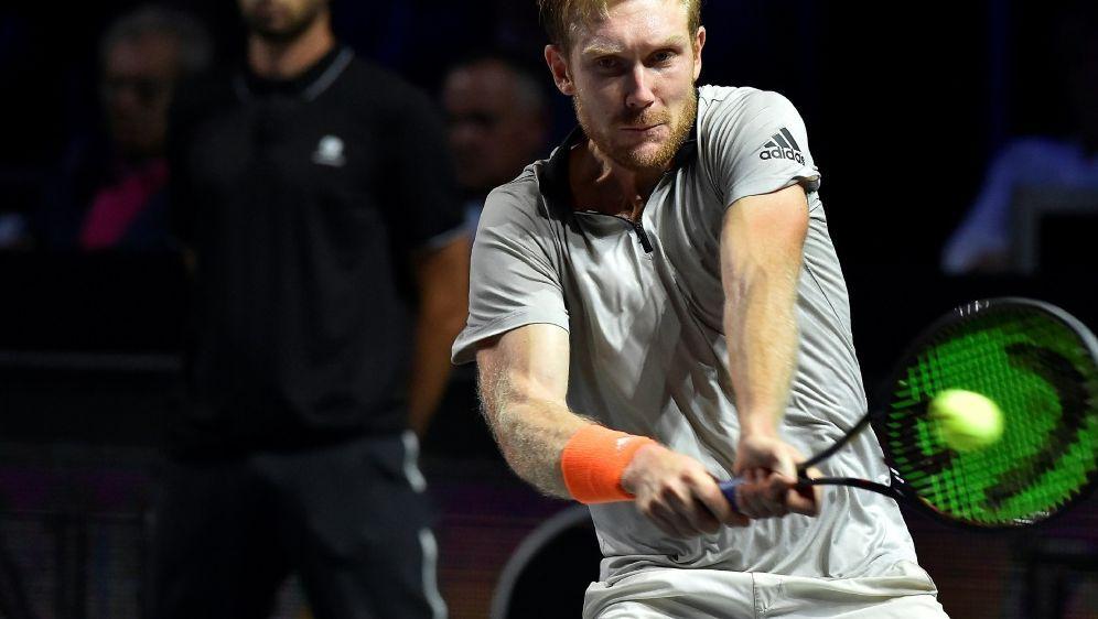 Matthias Bachinger scheitert in seinem ersten ATP-Finale - Bildquelle: AFPSIDJEAN-CHRISTOPHE VERHAEGEN