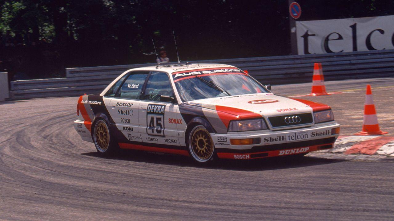 Walter Röhrl/1990 - Bildquelle: Audi
