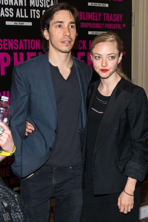 Amanda Seyfried und Justin Long - Bildquelle: AFP