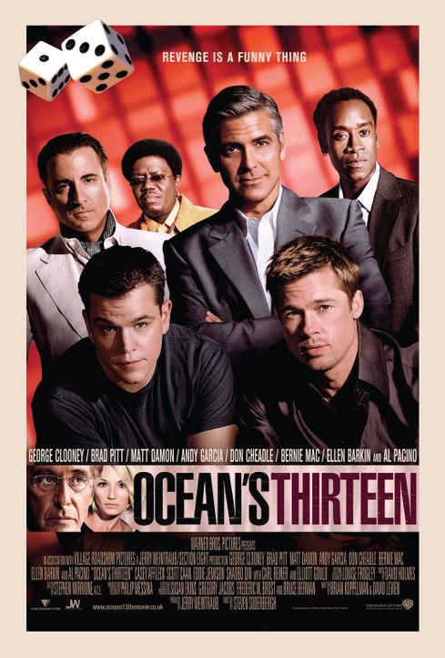 OCEAN'S 13 - Plakatmotiv - Bildquelle: TM &   2006 Warner Bros. All Rights Reserved