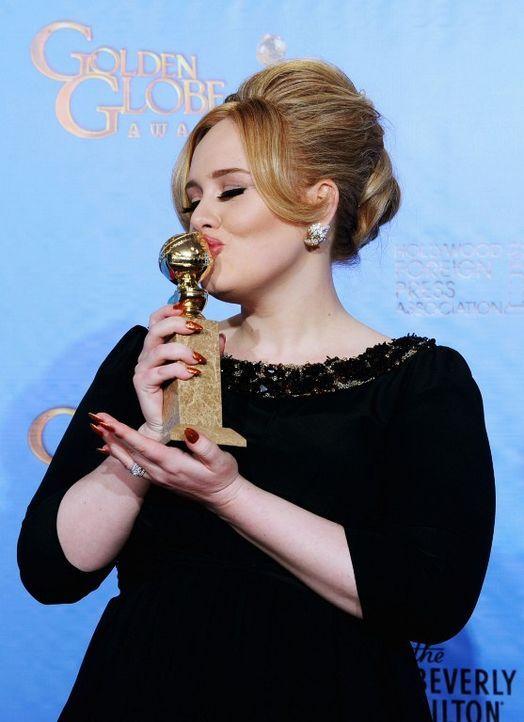 Adele bei den Golden Globes 2013 - Bildquelle: AFP
