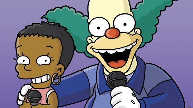 Beim Gesangswettbewerb: Lisa (l.) und Krusty (r.) ... © und TM Twentieth Cent...