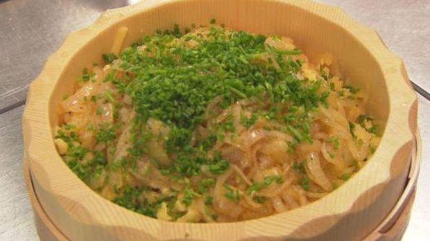 Vegetarischer Klassiker der alpenländischen Küche