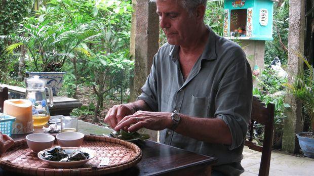Erkundet auf seiner kulinarischen Reise Zentral-Vietnam: Anthony Bourdain ......