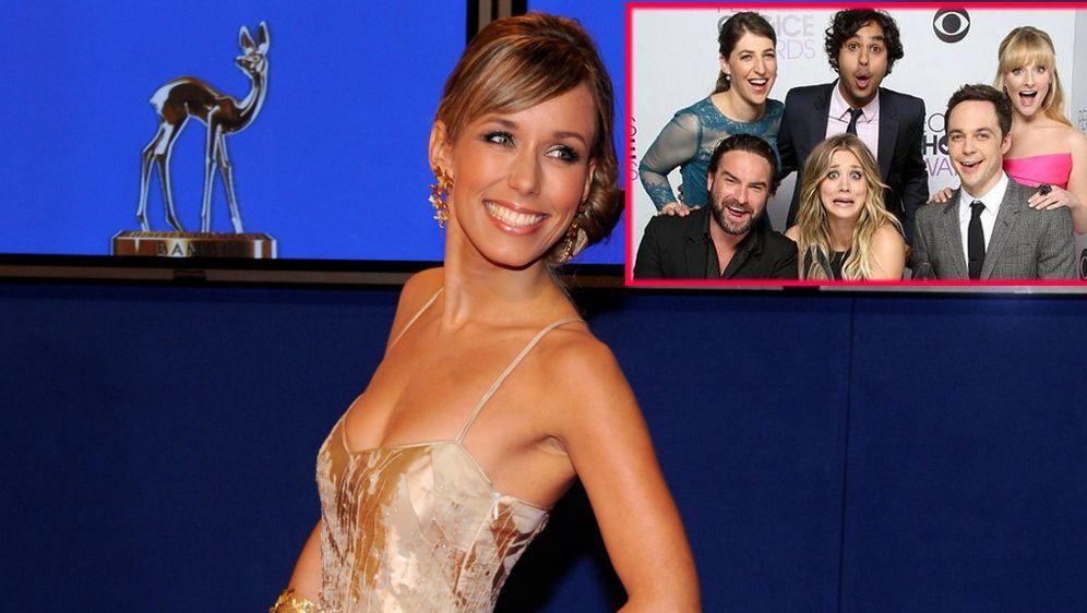 The Big Bang Theory Staffel 8 Annemarie Carpendale In Der Nerd Wg
