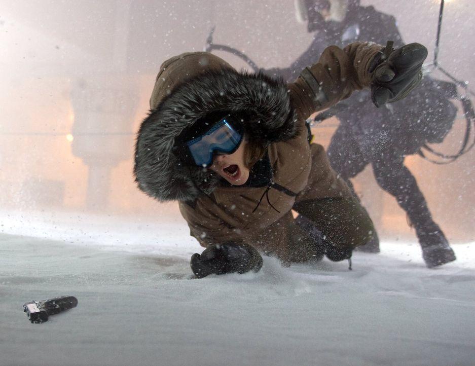 Carrie Stetko (Kate Beckinsale) ist U.S. Marshal auf einem der einsamsten Flecken der Erde, der Antarktis. Drei Tage bevor dort der Winter mit ganze... - Bildquelle: Warner Bros.