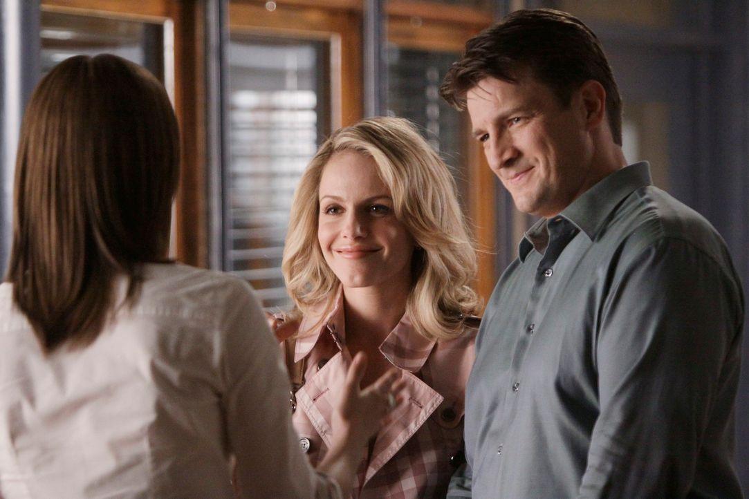 Während Beckett (Stana Katic, l.) und Castle (Nathan Fillion, r.) in einem internationalen Spionage-Fall ermittelt, der zahlreiche Fragen aufwirft,... - Bildquelle: ABC Studios
