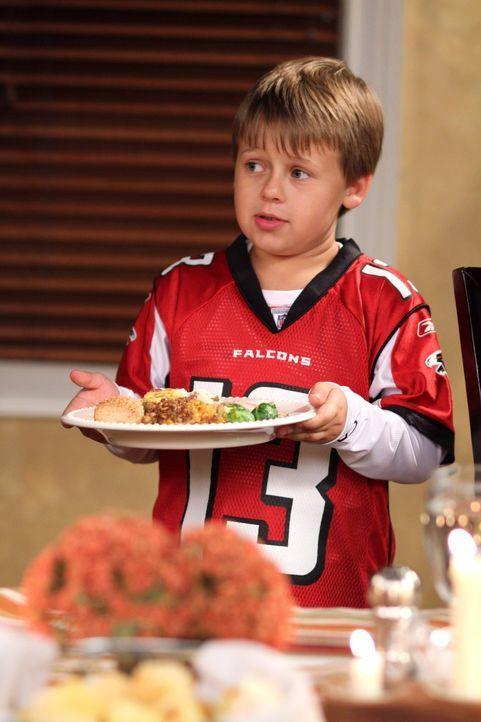 Ein riesiges Thanksgiving-Dinner wartet auf Jamie (Jackson Brundage) und seine Eltern ... - Bildquelle: Warner Bros. Pictures