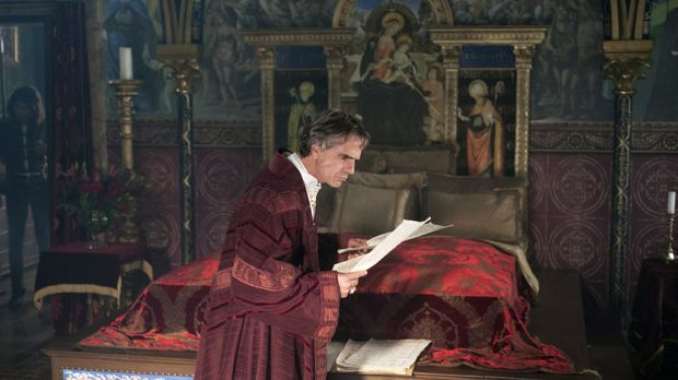 tDer neue Kardinal Alessandro Farnese entdeckt in der Schatzkammer, dass Kard...