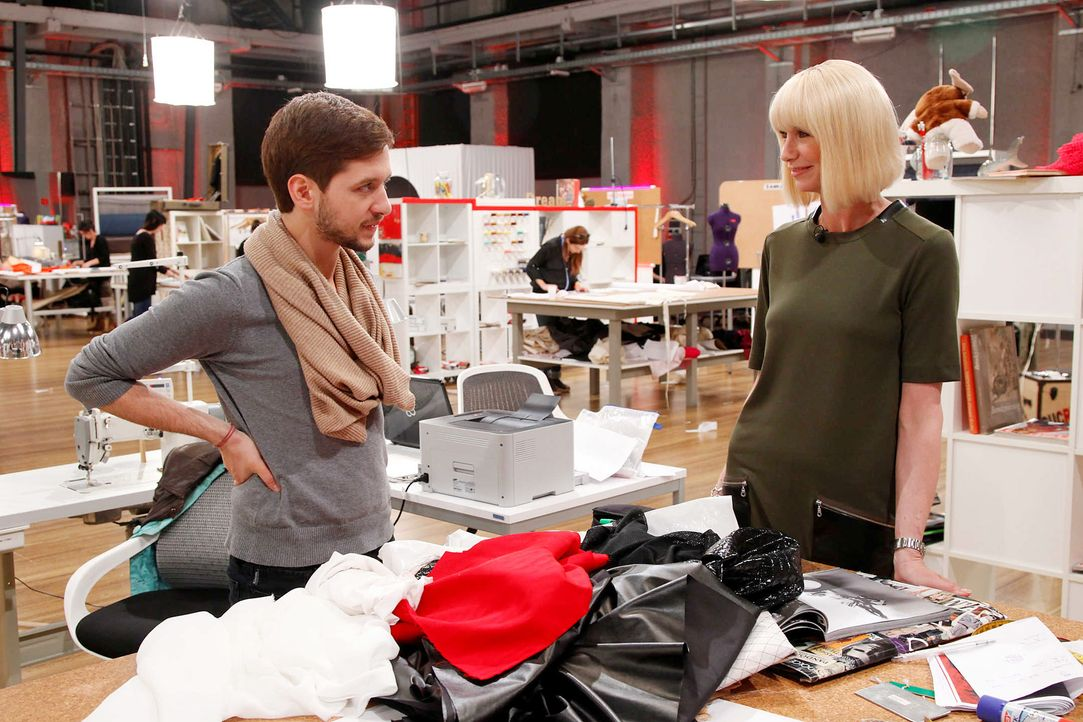 Fashion-Hero-Epi05-Atelier-14-ProSieben-Richard-Huebner - Bildquelle: Richard Huebner