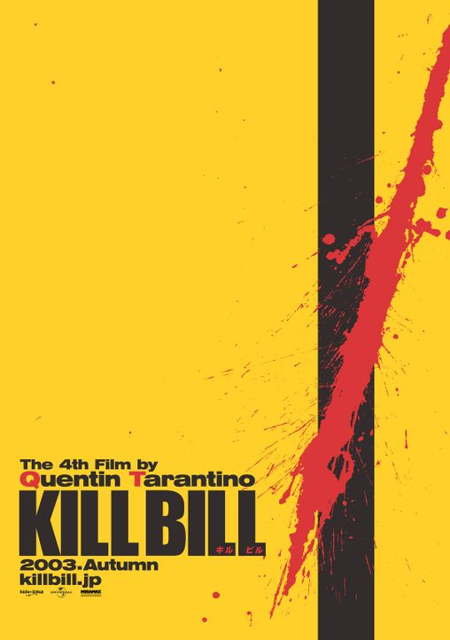 Kill Bill Vol. 1 - Plakatmotiv - Bildquelle: Miramax Films/Dimension Films. All Rights Reserved.