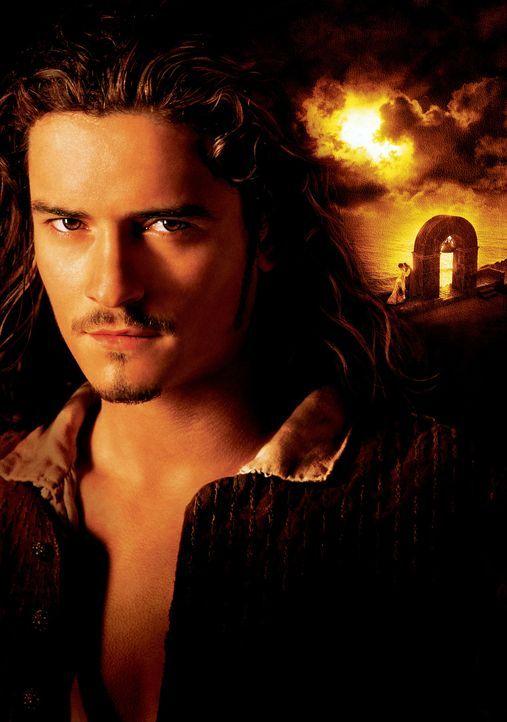 Gemeinsam mit Captain Sparrow macht der abenteuerlustige Schmied Will Turner (Orlando Bloom) Jagd auf die mörderische Piratenbande, dieseine große L... - Bildquelle: Disney/ Jerry Bruckheimer