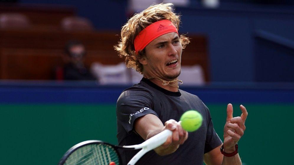 Zverev löst Ticket für das ATP-Finale - Bildquelle: AFPAFPJohannes EISELE