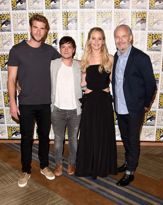 Comic-Con-2015-01-hunger-games-crew-getty-AFP - Bildquelle: getty-AFP