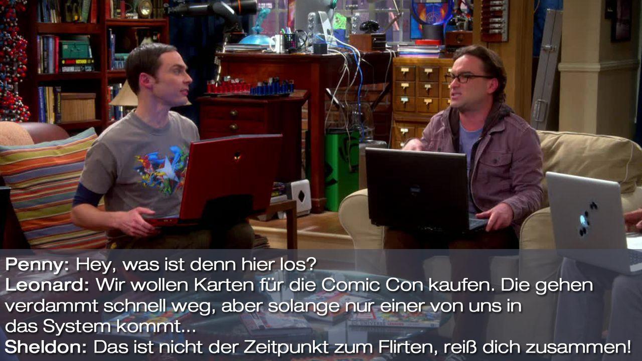 Staffel 7 Folge 14 - Zitat 1 - Bildquelle: Warner Bros. Television