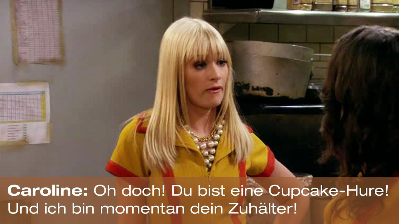 2-broke-girls-zitat-quote-staffel2-episode4-cupcake-wars-caroline-zuhaelter-warnerpng 1600 x 900 - Bildquelle: Warner Brothers Entertainment Inc.