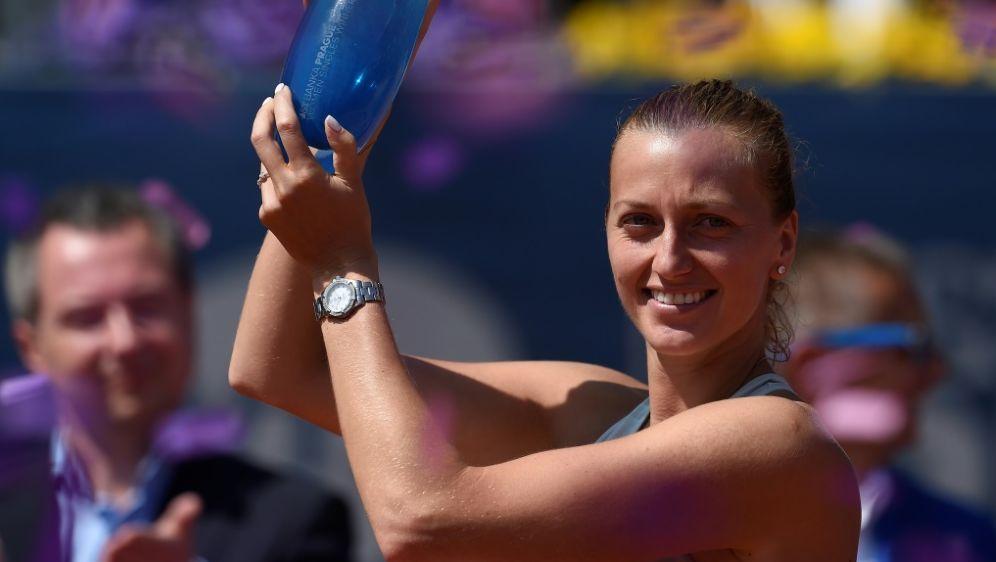 Petra Kvitova hat das WTA-Turnier in Prag gewonnen - Bildquelle: AFPAFPMichal CIZEK