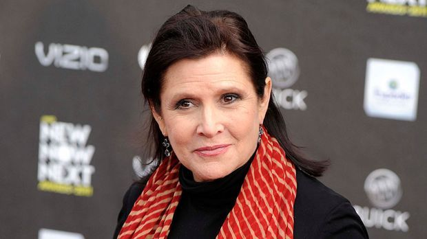 Carrie Fisher starb im Dezember 2016