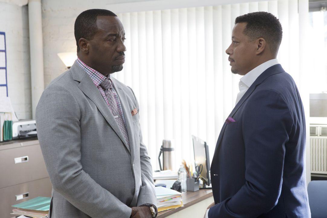 Im Gespräch mit Vernon (Malik Yoba, l.) gesteht Lucious (Terrence Howard, r.) endlich, dass er Bunkey erschossen hat ... - Bildquelle: 2015 Fox and its related entities.  All rights reserved.