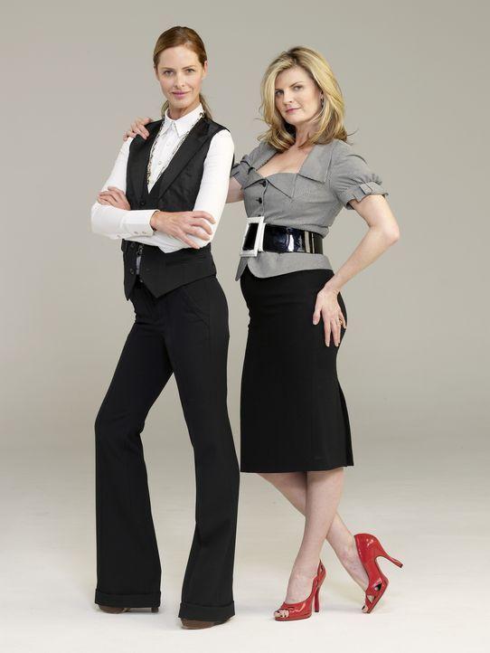 (2. Staffel) - Habe eine Mission in Holland: Trinny (l.) und Susannah (r.) ... - Bildquelle: XYZ Networks