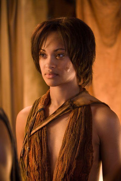 Naevia (Cynthia-Addai Robinson) kann nicht vergessen, was ihr die Römer angetan haben. Sie sinnt auf Rache ... - Bildquelle: 2011 Starz Entertainment, LLC. All rights reserved.