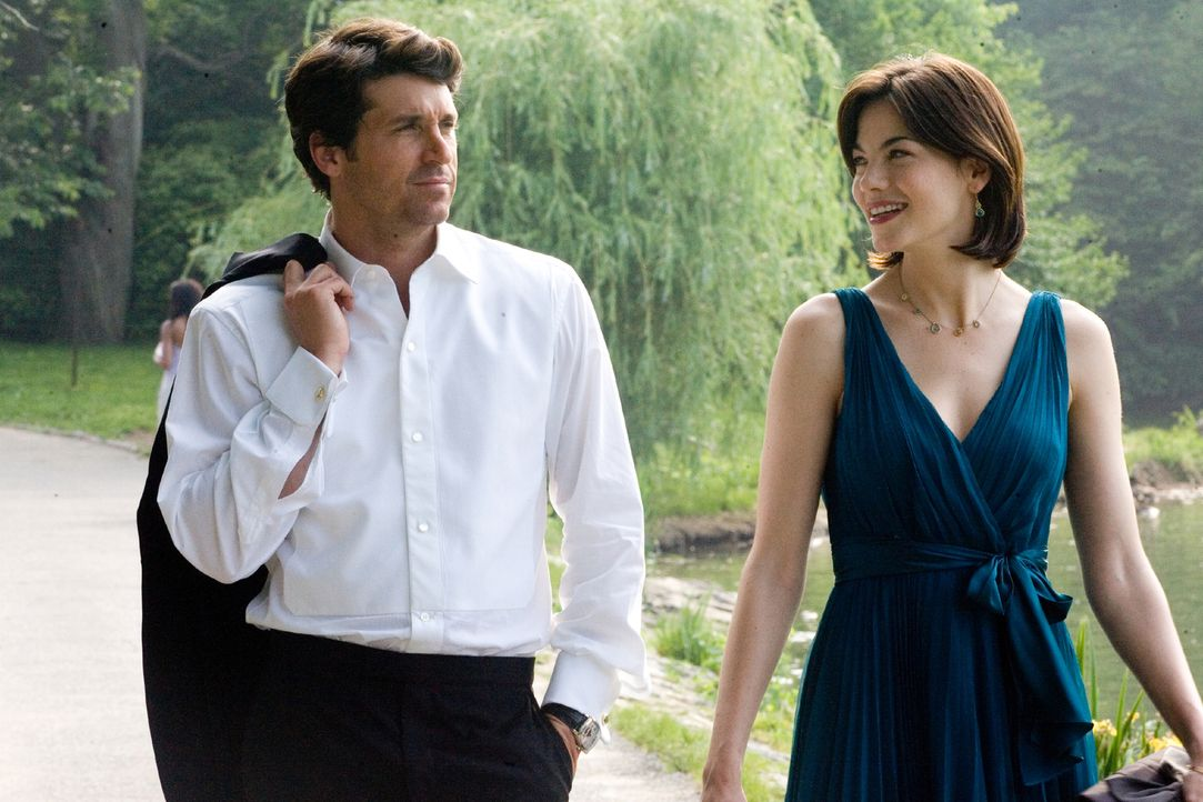 Der erfolgreiche Tom (Patrick Dempsey, l.) ist ein Frauenheld wie er im Buche steht. Seine beste Freundin Hannah (Michelle Monaghan, r.) jedoch erli... - Bildquelle: 2008 Columbia Pictures Industries, Inc. and Beverly Blvd LLC. All Rights Reserved.