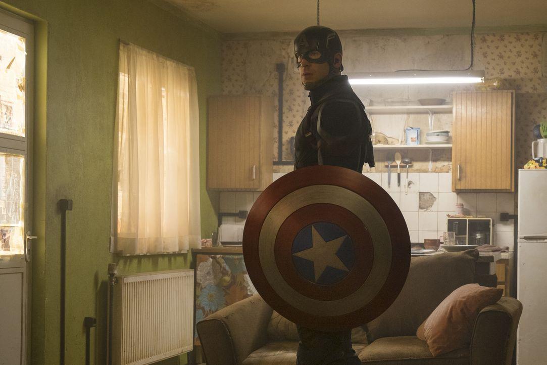 Steve Rogers alias Captain America (Chris Evans) - Bildquelle: Zade Rosenthal 2014 MVLFFLLC. TM &   2014 Marvel. All Rights Reserved./Zade Rosenthal
