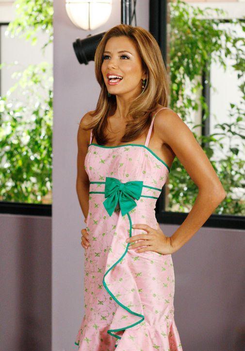 Gabrielle (Eva Longoria), die nun endgültig von Carlos geschieden ist, lässt sich von Vern, ihrem Einkaufsberater, dazu überreden kleine Mädchen zu... - Bildquelle: 2005 Touchstone Television  All Rights Reserved