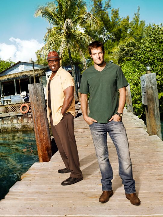 (1. Staffel) - Leo Knox (Michael Clarke Duncan, l.) ist eigentlich Anwalt, doch als er Walter Shermann (Geoff Stults, r.) kennenlernt, erkennt er in... - Bildquelle: 20th Century Fox International Television
