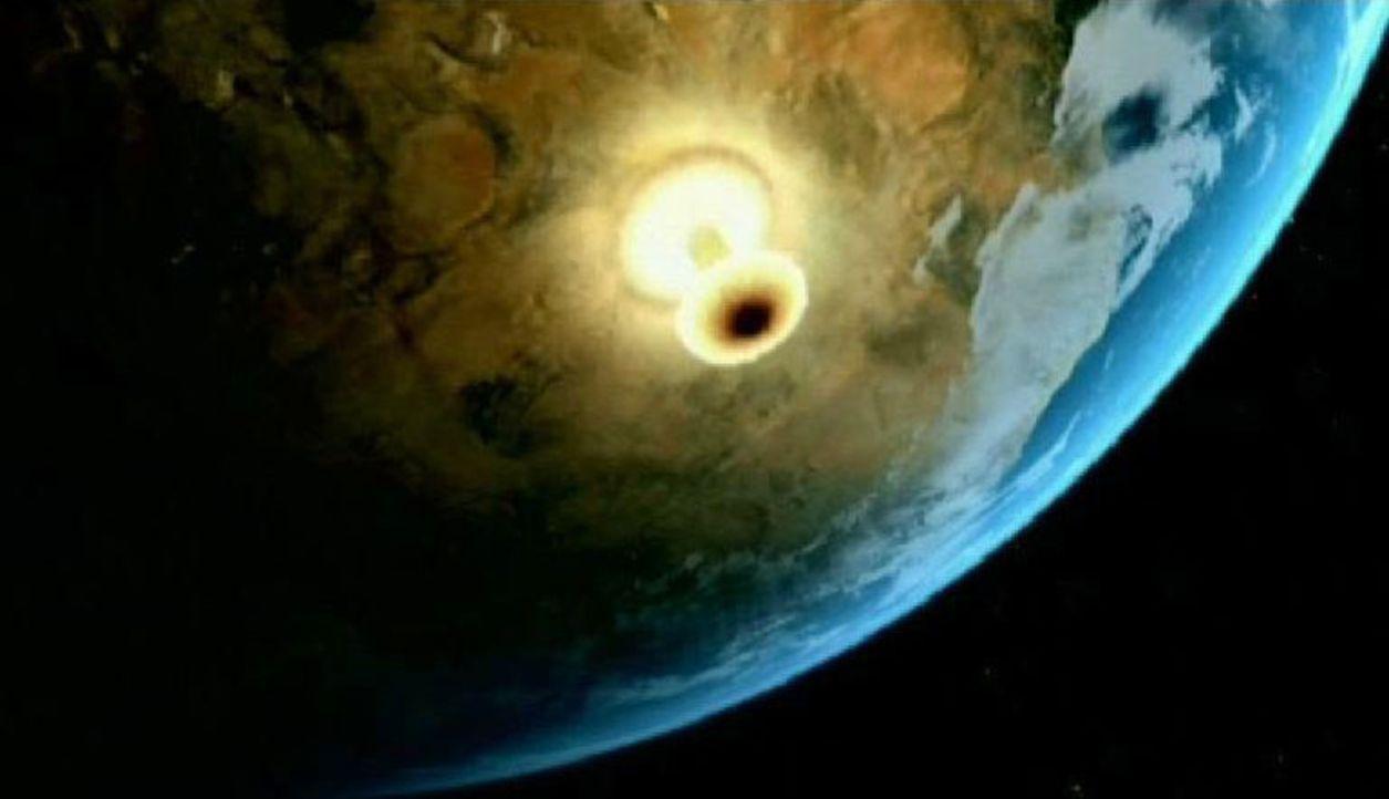 """""""24 Stunden spezial"""" geht der Frage nach, was passieren könnte, wenn ein Asteroid auf der Erde einschlägt, und wie verheerend die Folgen sein wür... - Bildquelle: Sat.1"""