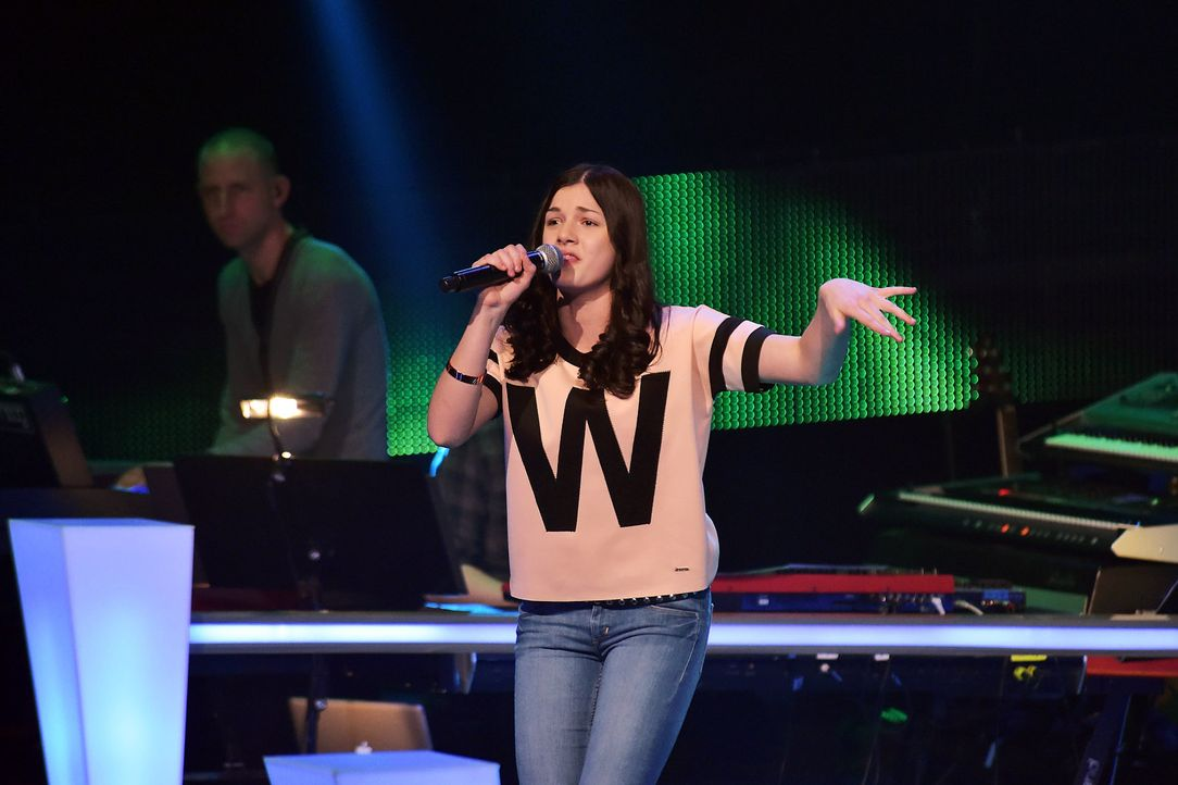 The-Voice-Kids-Stf03-Epi06-Auftritte-46-Samira-SAT1-Andre-Kowalski - Bildquelle: SAT.1/Andre Kowalski