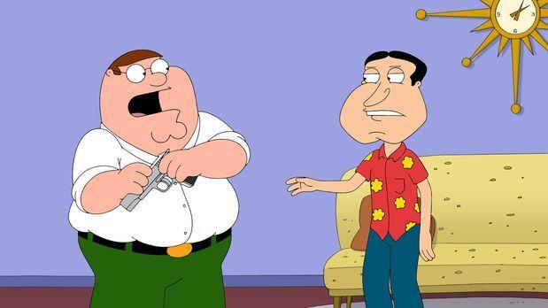 Family Guy - Während Brians Sohn Dylan in der Stadt auftaucht, geraten Peter...