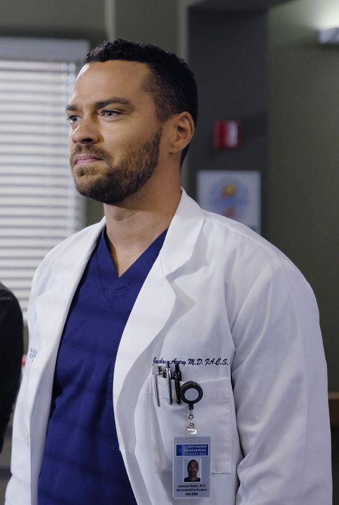 Wird von seiner Noch-Ehefrau vor eine große Herausforderung gestellt: Jackson (Jesse Williams) ... - Bildquelle: Tony Rivetti ABC Studios