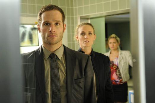 Beziehungskonflikte (v.l.n.r.) David (Lee Rychter), Maja (Barbara Lanz) und M...