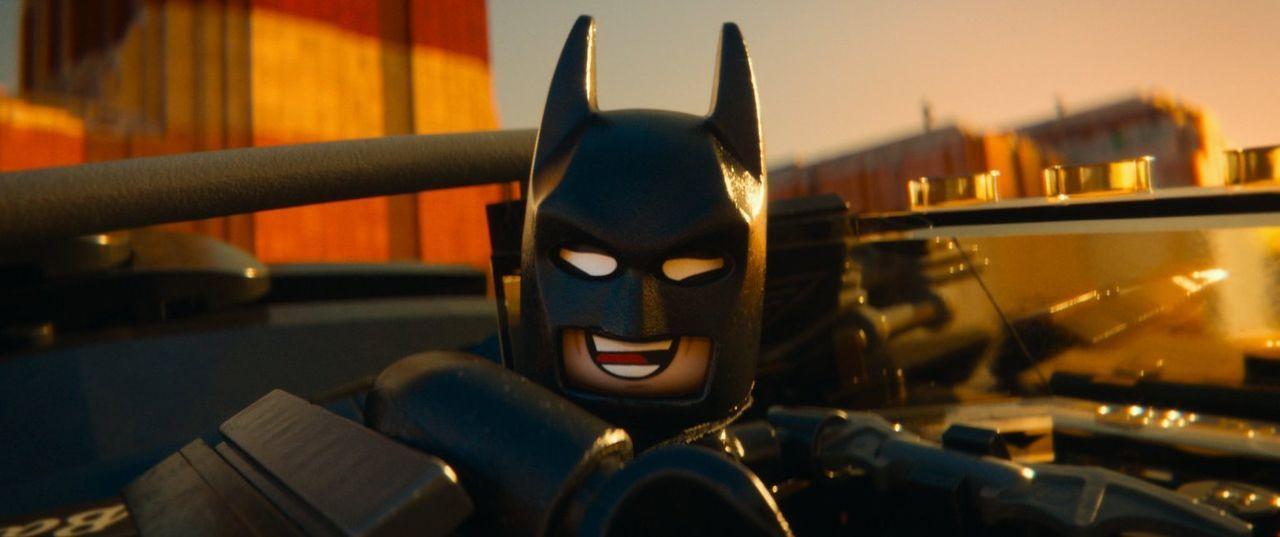 Wyldstyles Freund Batman (Bild) fürchtet weder Tod noch Teufel ... - Bildquelle: 2014 Warner Brothers