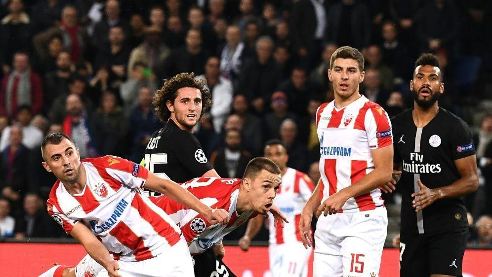 Champions League: Belgrad ging in Paris mit 1:6 unter - Bildquelle: AFPSIDANNE-CHRISTINE POUJOULAT