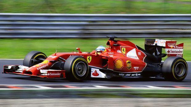 Formel Eins Wagen