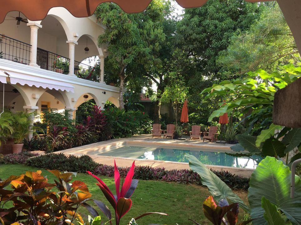 Das Hotel Posada San Juan in Valladolid, Mexico, ist eine kleine Oase und eignet sich perfekt für eine kleine Auszeit abseits der hektischen Straßen... - Bildquelle: 2016, The Travel Channel, L.L.C. All Rights Reserved.