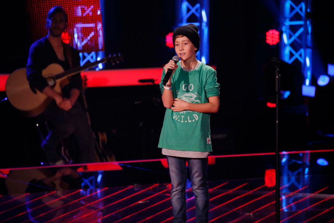 The-Voice-Kids-Stf04-Epi04-Danach-Tom-08-SAT1-Richard-Huebner - Bildquelle: © SAT.1/ Richard Hübner
