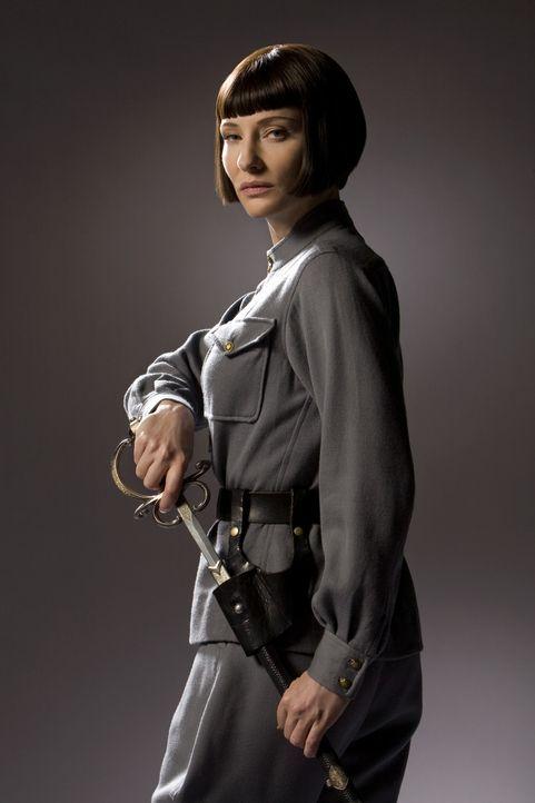 Durch einen mysteriösen Kristallschädel erhofft sich die skrupellose russische Agentin Irina Spalko (Cate Blanchett) eine unermesslich mächtige Waff... - Bildquelle: David James & TM 2008 Lucasfilm Ltd. All Rights Reserved.