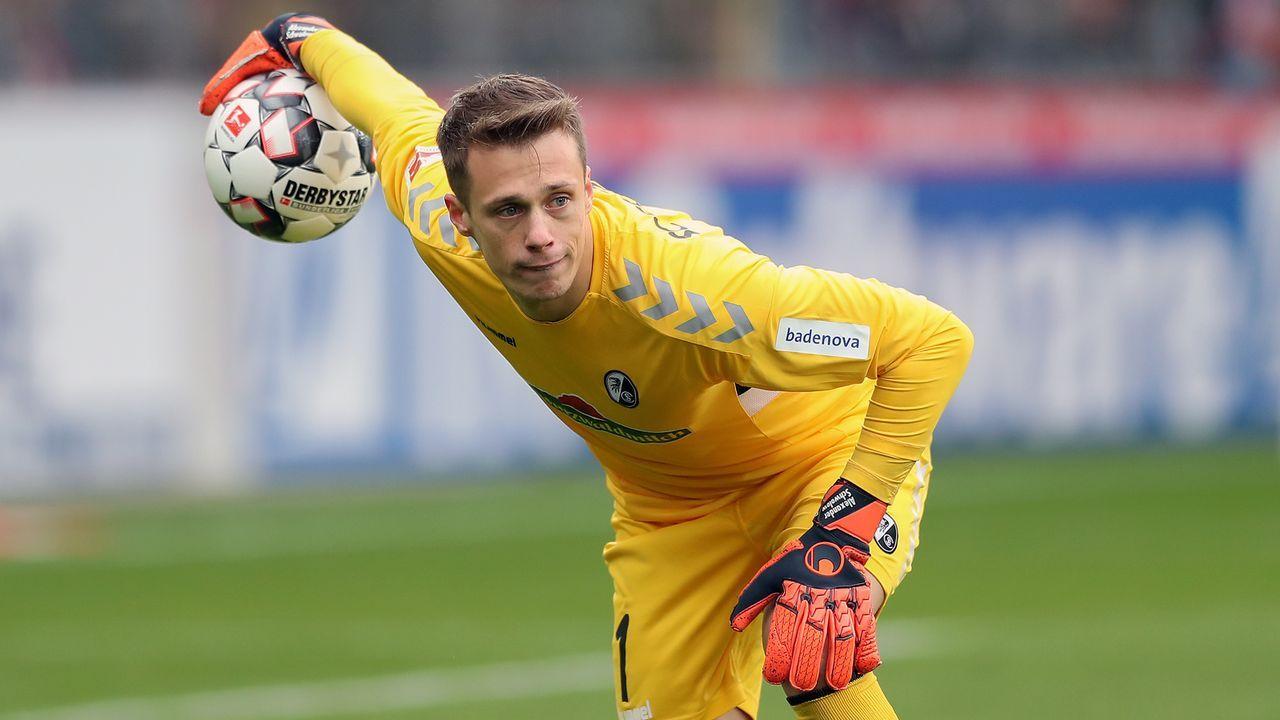 Alexander Schwolow (SC Freiburg) - Bildquelle: 2019 Getty Images