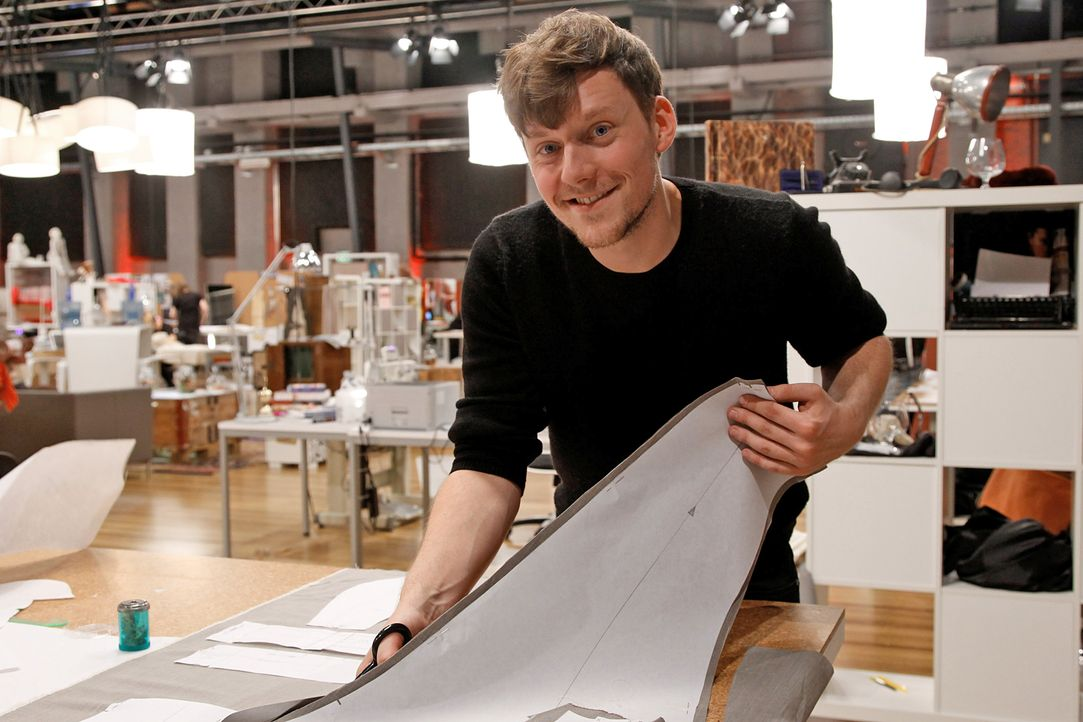 Fashion-Hero-Epi03-Atelier-02-Pro7-Richard-Huebner - Bildquelle: Richard Hübner / Pro 7
