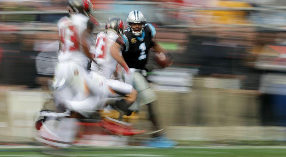 8. Cam Newton (Carolina Panthers) - Bildquelle: 2017 Getty Images