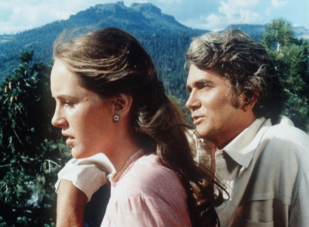 Little Joe (Michael Landon, r.) will Alice Harper (Bonnie Bedelia, l.) heiraten. - Bildquelle: Paramount Pictures