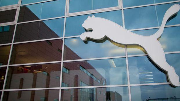 Das Logo des Sportartikelherstellers Puma