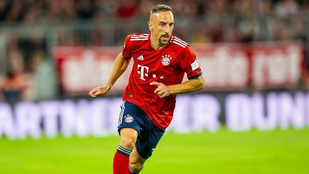 Franck Ribery verließ vorzeitig die Allianz Arena - Bildquelle: PIXATHLONPIXATHLONSIDNewspix