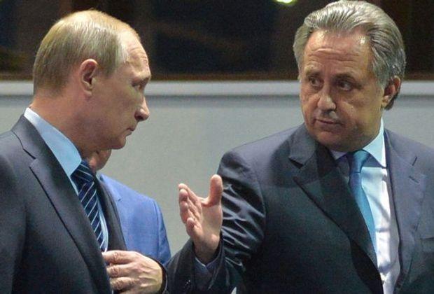 Putin befördert Mutko (r.) zum Vize-Ministerpräsidenten